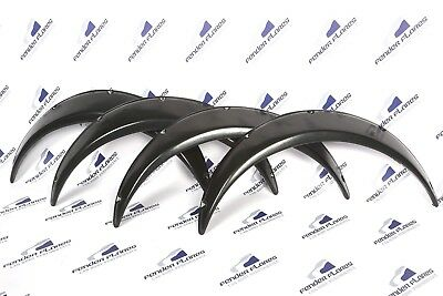 Universal JDM Fender Flares over wide body wheel arches ABS 55mm 4Pcs