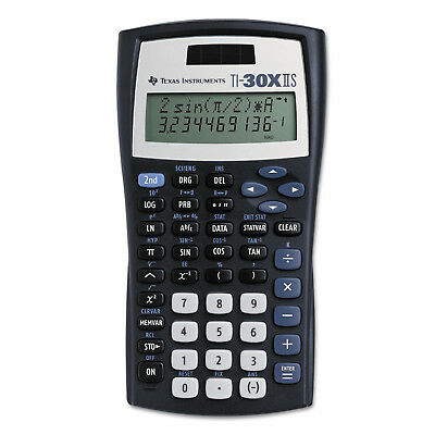 Texas Instruments TI-30X IIS 2-Line Dual Powered Scientific Calculator