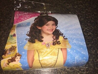 Halloween Costume/Cosplay Disney Princess Belle Beauty/Beast Child Size Wig New