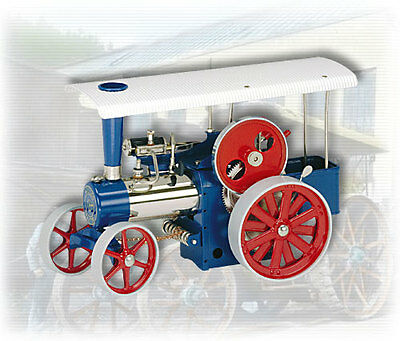 AU SPECIAL: Wilesco D405 TOY STEAM TRACTION ENGINE - SEE VIDEO NEW FREE SHIPPING
