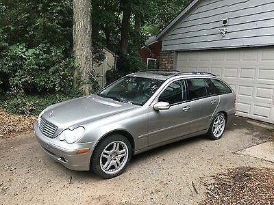 2003 Mercedes-Benz C-Class Wagon Manual Transmission RARE Mercedes Benz 2003 C-240 wagon 6 speed