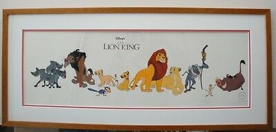 Disney The Lion King Animation Cell