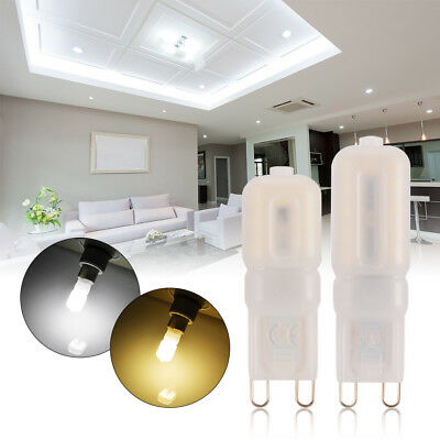 10x 5W 8W 12W G9 Bright Dimmable Capsule Bulbs LED Lights Replace Halogen Lamp