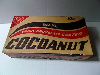 "Vintage 1960's Nabisco - Welch's ""Cocoanut"" Candy Box (Empty)"