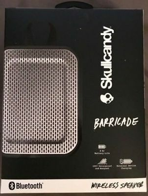 New Skullcandy Barricade Mini Bluetooth Wireless Portable Speaker ( Black )