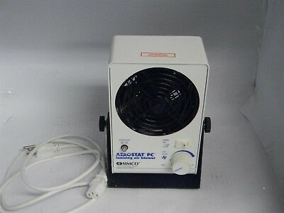 Simco Aerostat PC 4003367 60Hz 120VAC 200W Ionizing Air Blower w/ Power Cable
