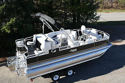 New 20 ft Quad  Fish pontoon boat with High performance tubes