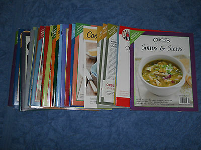 Lot of 29 Cook's Illustrated Magazines cooking magazine recipes