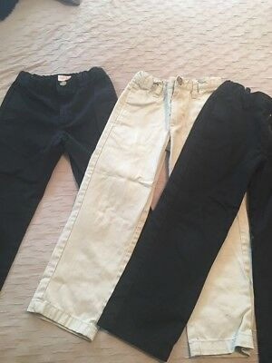 3 Pair Of Uniform Pants Size 4