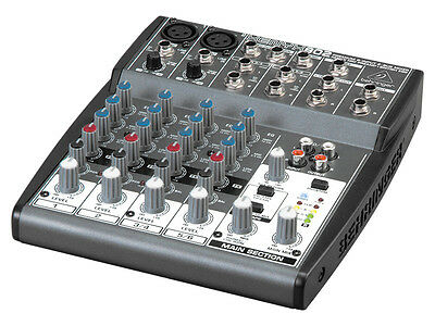 Behringer Xenyx 802 Mixer - perfect condition - upgrading to a bigger behringer