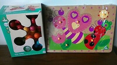 Elc Star Links +Pull Peg Puzzle Toys