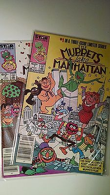 Muppets Take Manhattan 1 and 3 Comic