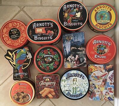Arnott's Assorted Biscuit Tins