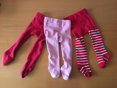 Polarn o Pyret Tights, 2-6 Months- Set Of 3