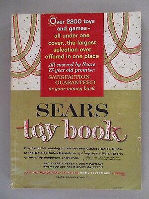 Sears Toy Book CATALOG - 1964 ~~ toys, from Christmas Catalog