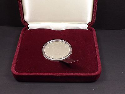 1982 Canadian Dollar Constitution with Velvet Case and Box