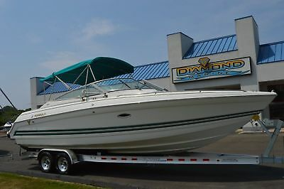 2000 Formula 280 BR Bowrider Twin 260 HP Super Clean, Low hours, New Trailer