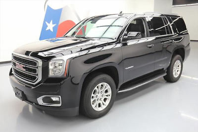 2017 GMC Yukon SLT Sport Utility 4-Door 2017 GMC YUKON SLT 8-PASS VENT LEATHER NAV REAR CAM 21K #181316 Texas Direct