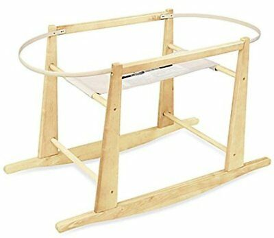 Rocking Moses Basket Stand, JOLLY JUMPER, Natural