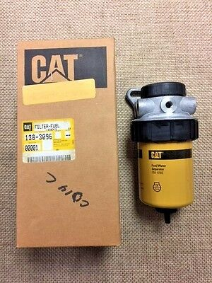 Cat, Caterpillar Fuel Filter 138-3096 W/ O-Rings and housing