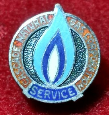 Silver Cascade Natural Gas Corporation Service Pin