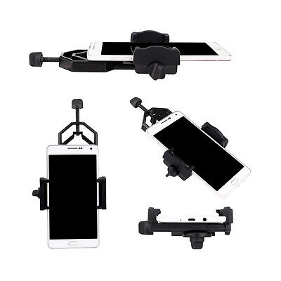 New!Universal Telescope Cell Phone Mount Adapter for Monocular Spotting Scope US