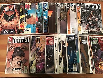 Batman: Legends of the Dark Knight Comics, Lot of 44 Issues, VF-NM Condition