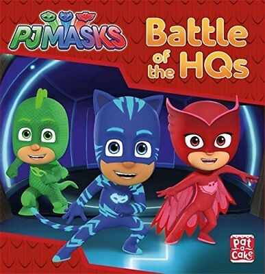 Battle of the HQs: A PJ Masks story book by PJ Masks New Hardback Book