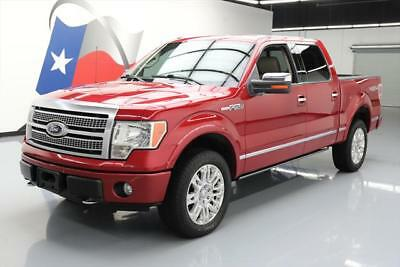 2010 Ford F-150  2010 FORD F-150 PLATINUM 4X4 LEATHER SUNROOF NAV 20'S  #A16772 Texas Direct Auto