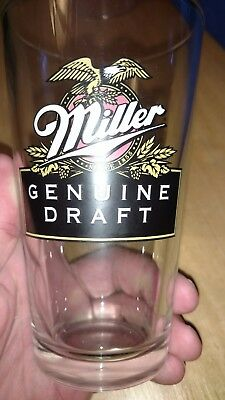 Miller genuine draft pint glass