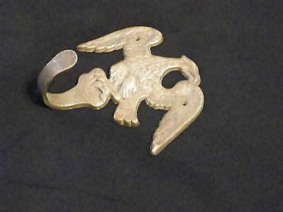 Eagle Wall Hook Solid Brass