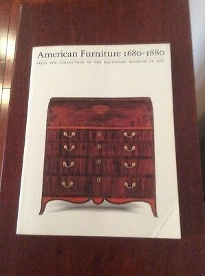 American Furniture 1680  1880 From The Collection Of The Baltimore Museum Of Art