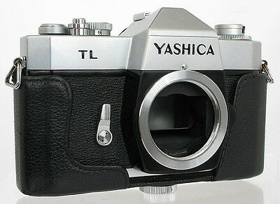 YASHICA TL - M42 THREAD SLR, has NEW SEALS, FULLY CHECKED - PLEASE READ TEXT