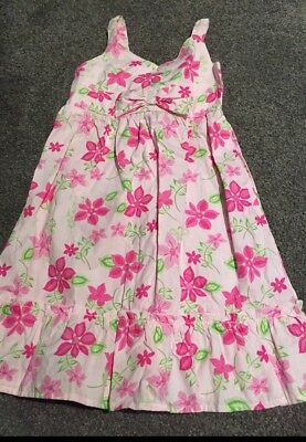 Girls size 3 Summer Cotton Dress With Pretty Flowers New Very Sweet