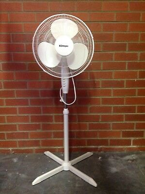 Dimplex electric fan on stand