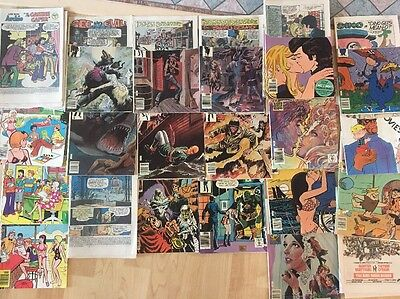 Comic Books Lot of 42 1975 & 1976 Archie, Josie, Billy the Kid, I Love You, Army