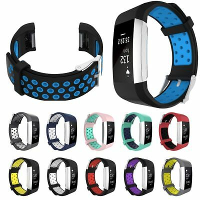 Replacement Silicone Gel Band Strap Bracelet Wristband for Fitbit Charge 2 AU
