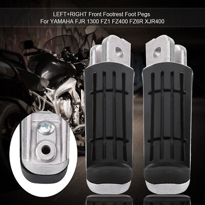 1Pair Motorcycle Front Footrest Pedals Foot Pegs for YAMAHA FZR/FZS/XJ/YZF 600