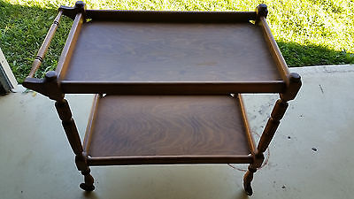 Antique Traymobile Serving Trolley