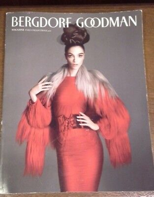 Rare! 2011 Bergdorf Goodman Magazines Fall Collection Catalog 222 pages + Mens