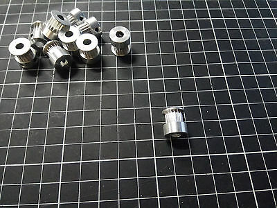 GT2 Idler Timing Pulley 16 Tooth Wheel Bore 5mm Aluminium Prusa