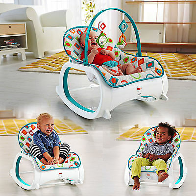 BEST Portable Infant to Toddler Rocker Bouncer Seat Baby Chair Sleeper Swing Toy