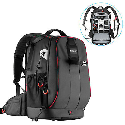 Neewer Waterproof Shockproof Padded Camera Backpack Bag for SLR DSLR Camera