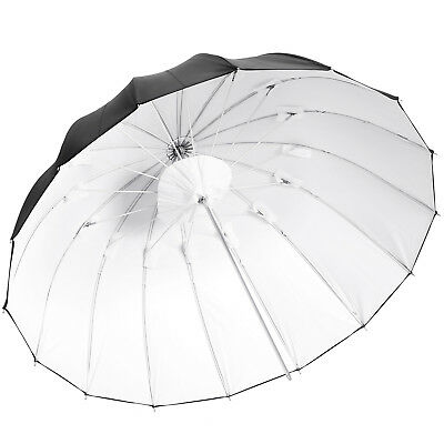 "Neewer 42"" Strobe Flash Black Cover Soft Reflector Umbrella with White Diffuser"