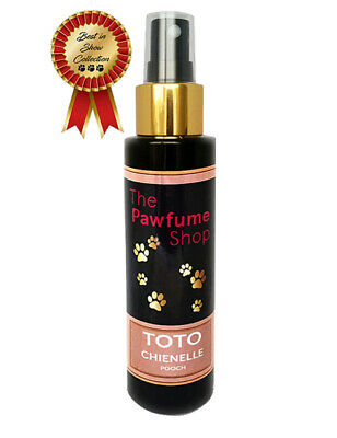 TOTO CHIENELLE Perfume Designer Dog Cologne Fragrances Scented Like Real Perfume