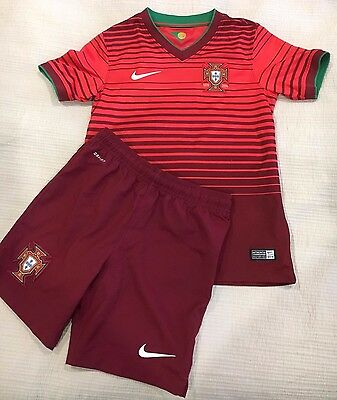Portugal Soccer Gear Youth Size 8-10