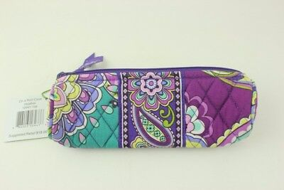 New with tags Vera Bradley On a Roll Makeup Case in Heather