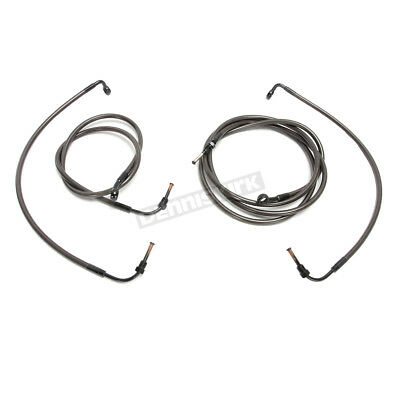 LA Choppers Complete Cable and Brake Kit - LA-8055KT2-13M