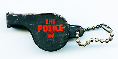 The Police Vintage Original A & M Records Promotional Plastic Whistle Sting