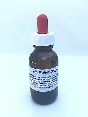 Pain Relief Drops - Homeopathic Medicine 50 ml (NOT AVAILABLE UNTIL SEPT 4th)